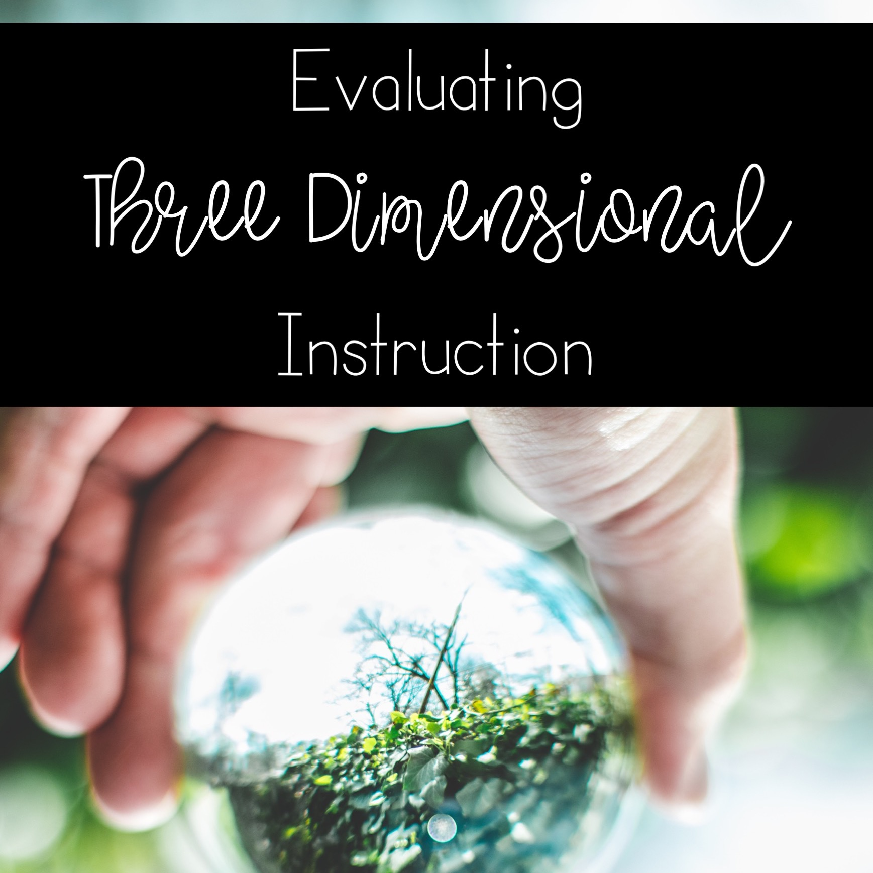 evaluate your implementation of three dimensional instruction