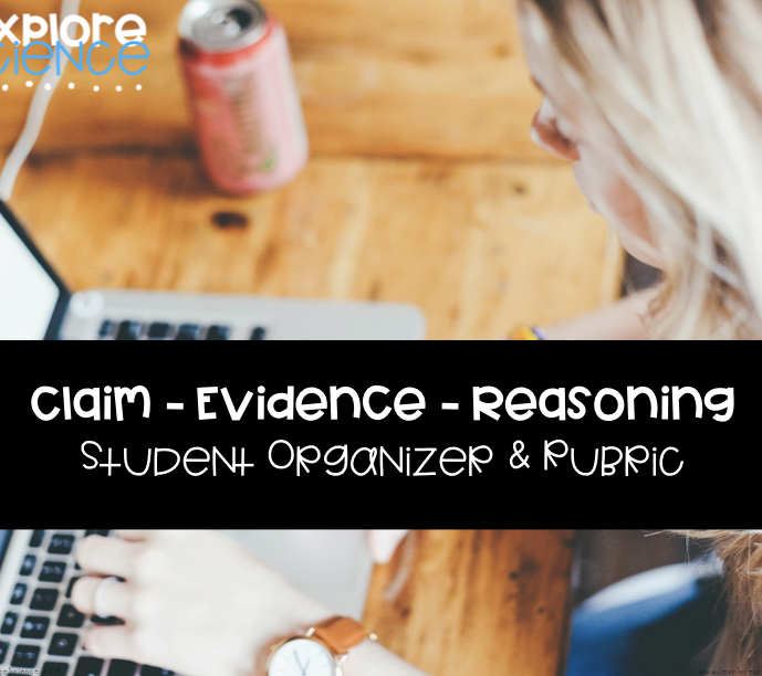 argumentative writing CER claim evidence reasoning